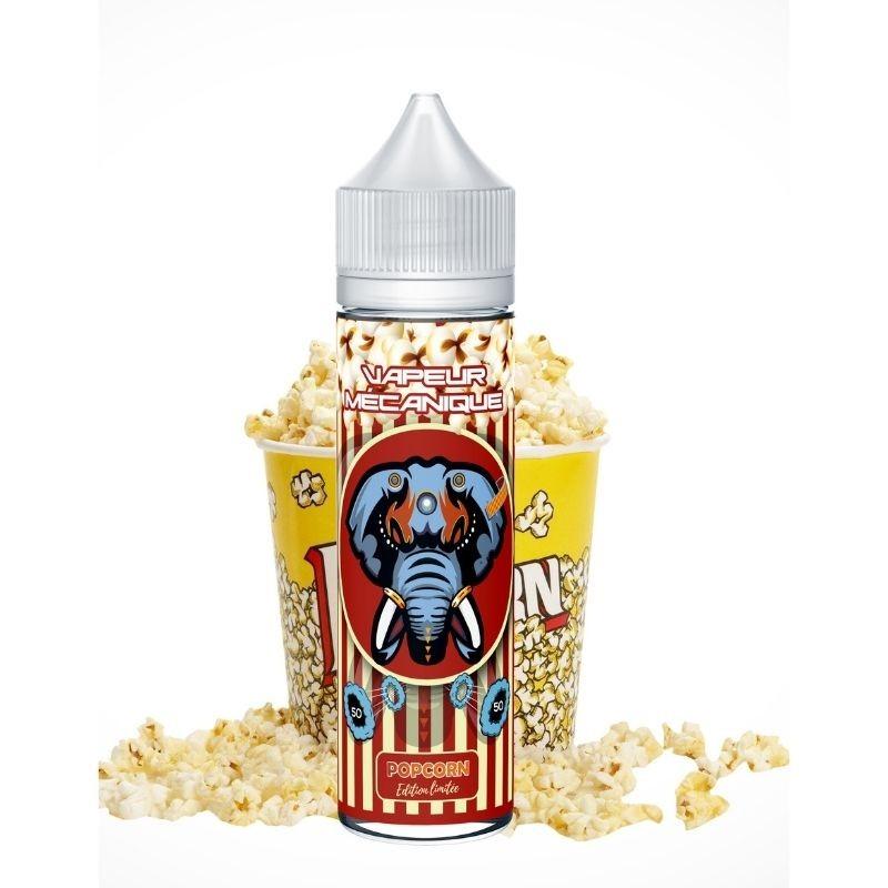 Popcorn 50ml - Vapeur Mécanique