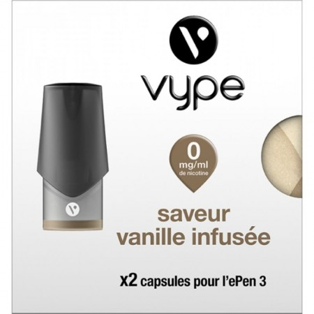 Vanille infusée ePen3 - Vype