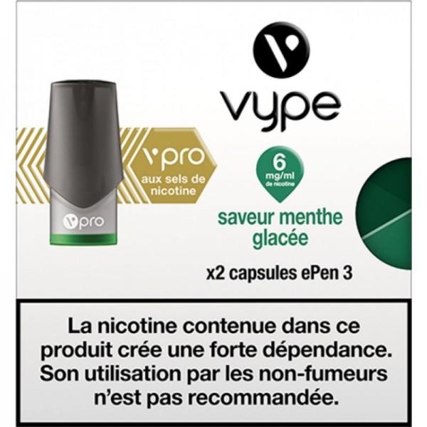 Menthe glacée vPro ePen3 - Vype