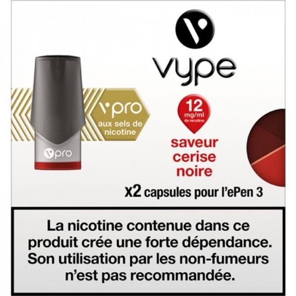 Cerise Noire vPro 12mg ePen3 - Vype