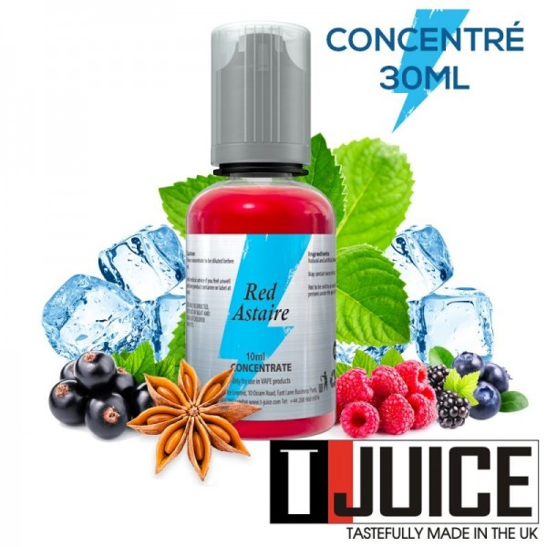 Concentré Red Astaire 30ml - T-Juice