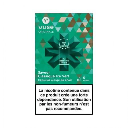 Classique Ice vert vPro ePod - Vype