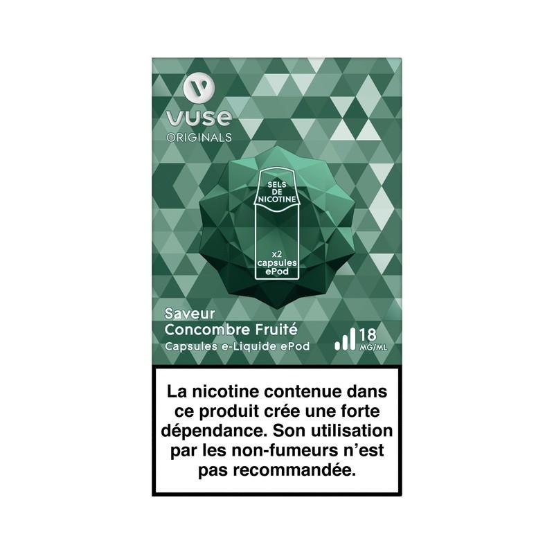 Concombre Fruité vPro ePod - Vype