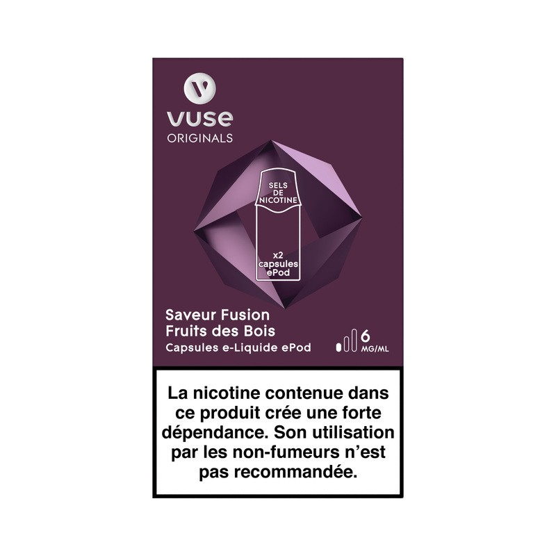 Fusion Fruits des Bois vPro ePod - Vype