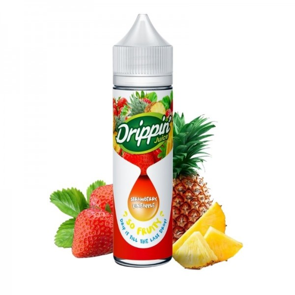 Fraise Ananas 50ml - Drippin' Juice