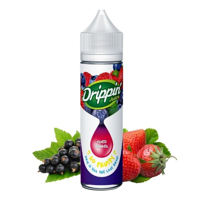 Mixed Berries 50ml - Drippin' Juice